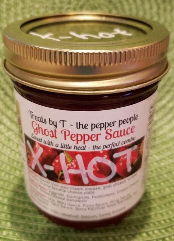 X-tra Hot Ghost Pepper Sauce