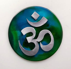 Metal Wall Art:  OM