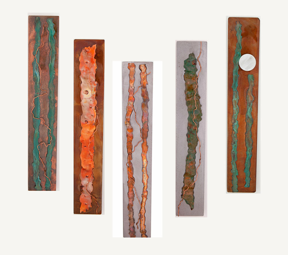 Metal Wall Art: Contemporary Series by Kristen Hoard ($175)