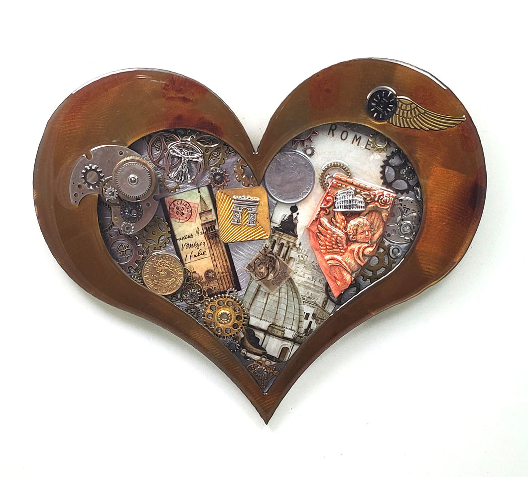 Steampunk Heart: Rome Patina ($125) 10
