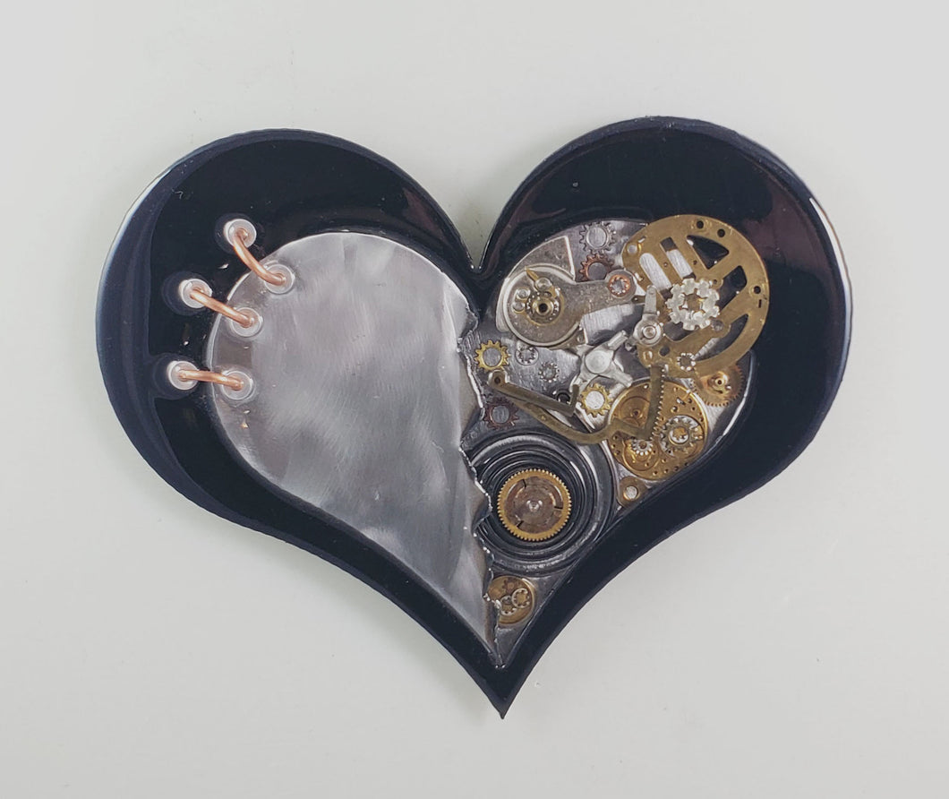 Steampunk Heart: Torn Black ($125) 10