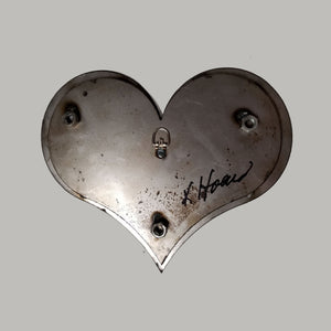 "Steampunk Heart: Boudoir Red ($125) 10"" x 8"""