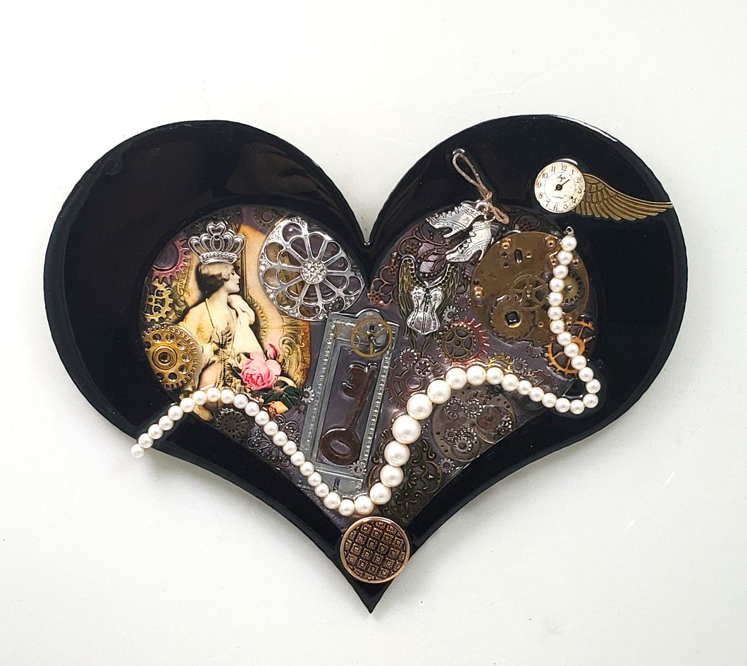Steampunk Heart: Boudoir Black ($125) 10