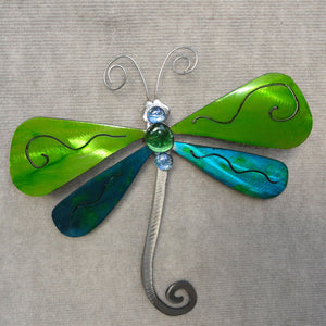 Metal Art Gift: Dragonfly by Kristen Hoard ($49/$125/$175)