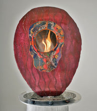 Metal Sculpture Firepit: African Dream by Kristen Hoard ($600)