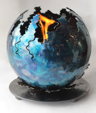 Metal Sculpture Firepit: Primordial Fire by Kristen Hoard ($600)