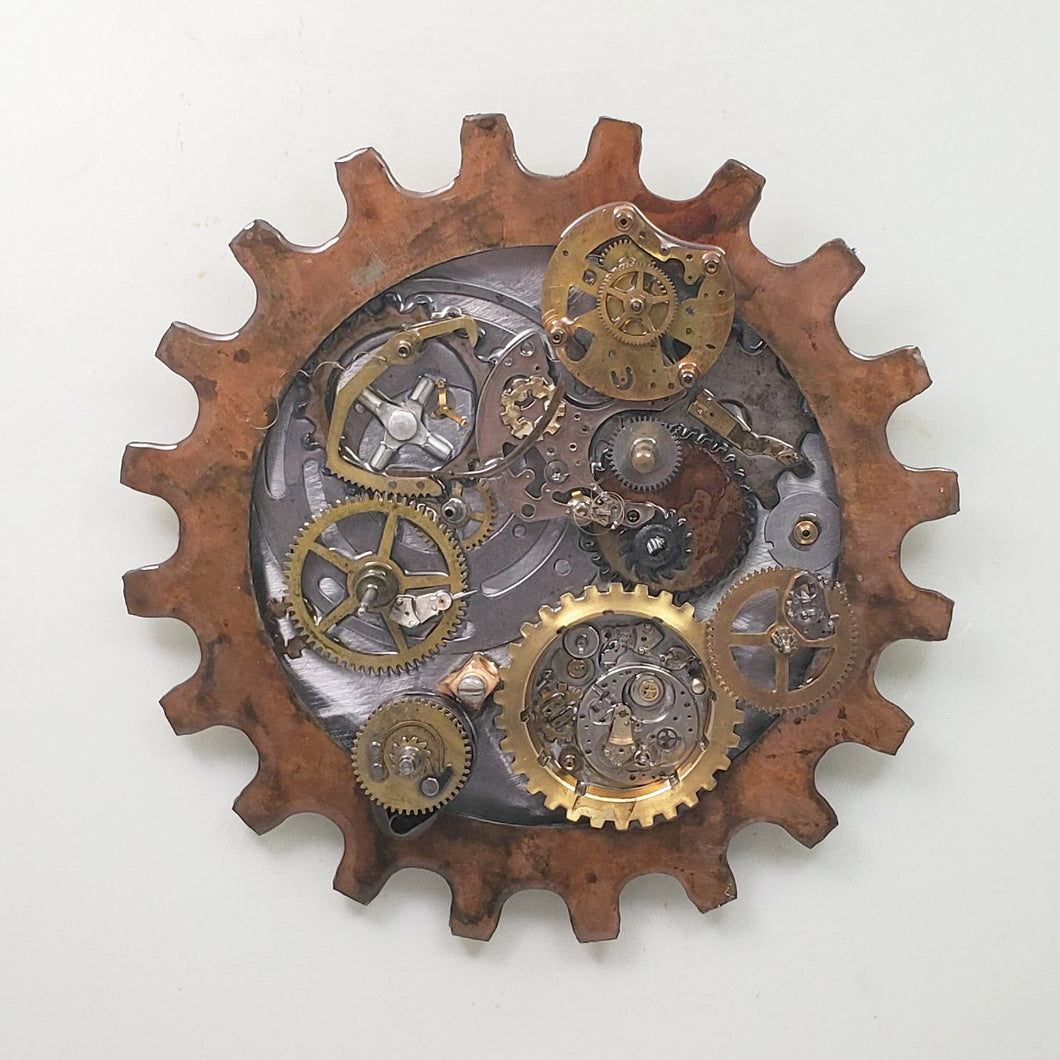 Steampunk Gear 5 Patina ($125) 10