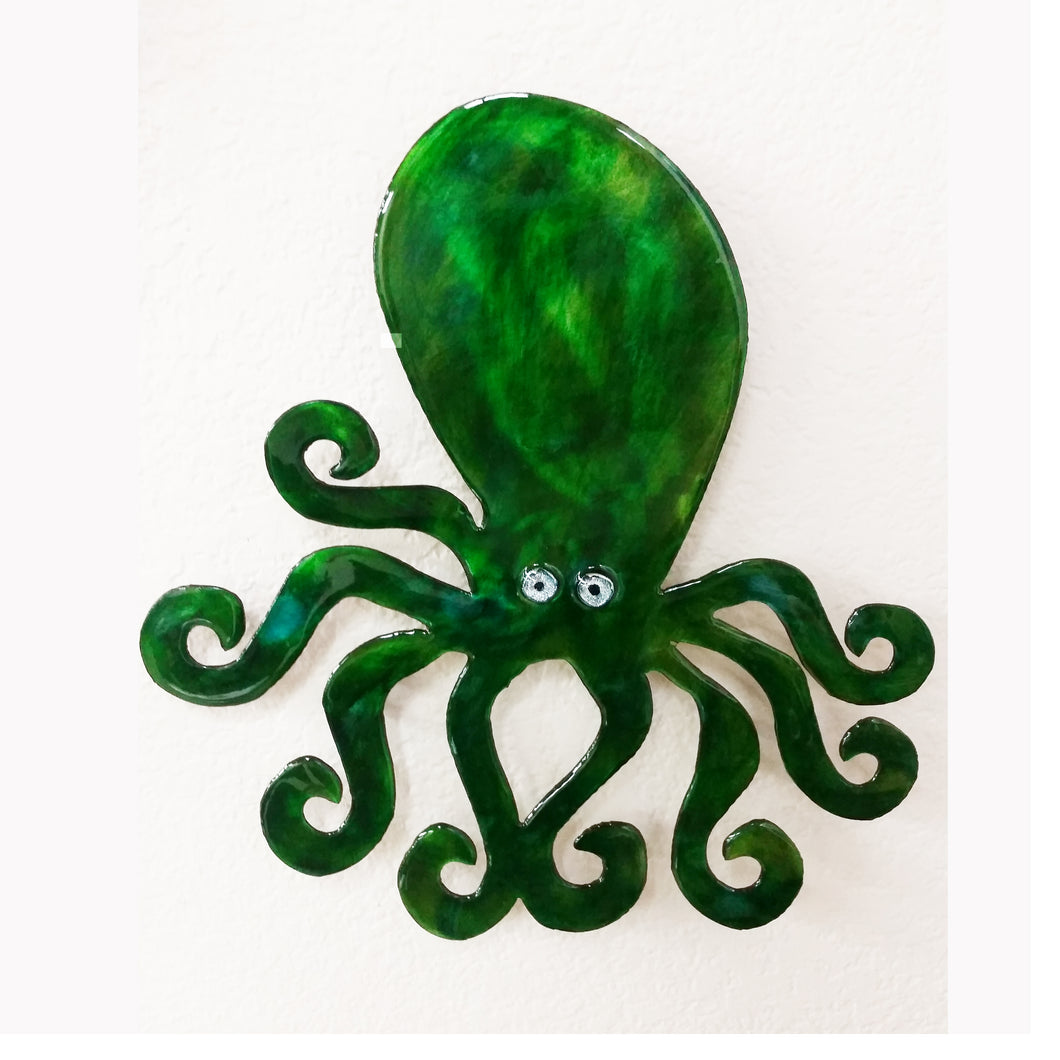 Metal Wall Art: Octopus by Kristen Hoard ($125)