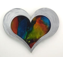 "12"" Resin Heart Mirage($150)"