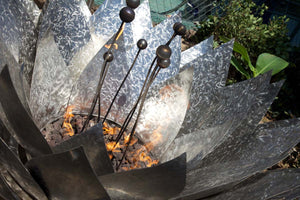 Stainless Steel Lotus Fire Pit (Call for Quote)