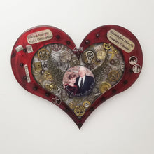 Custom Steampunk Heart (3 sizes $150-$275)