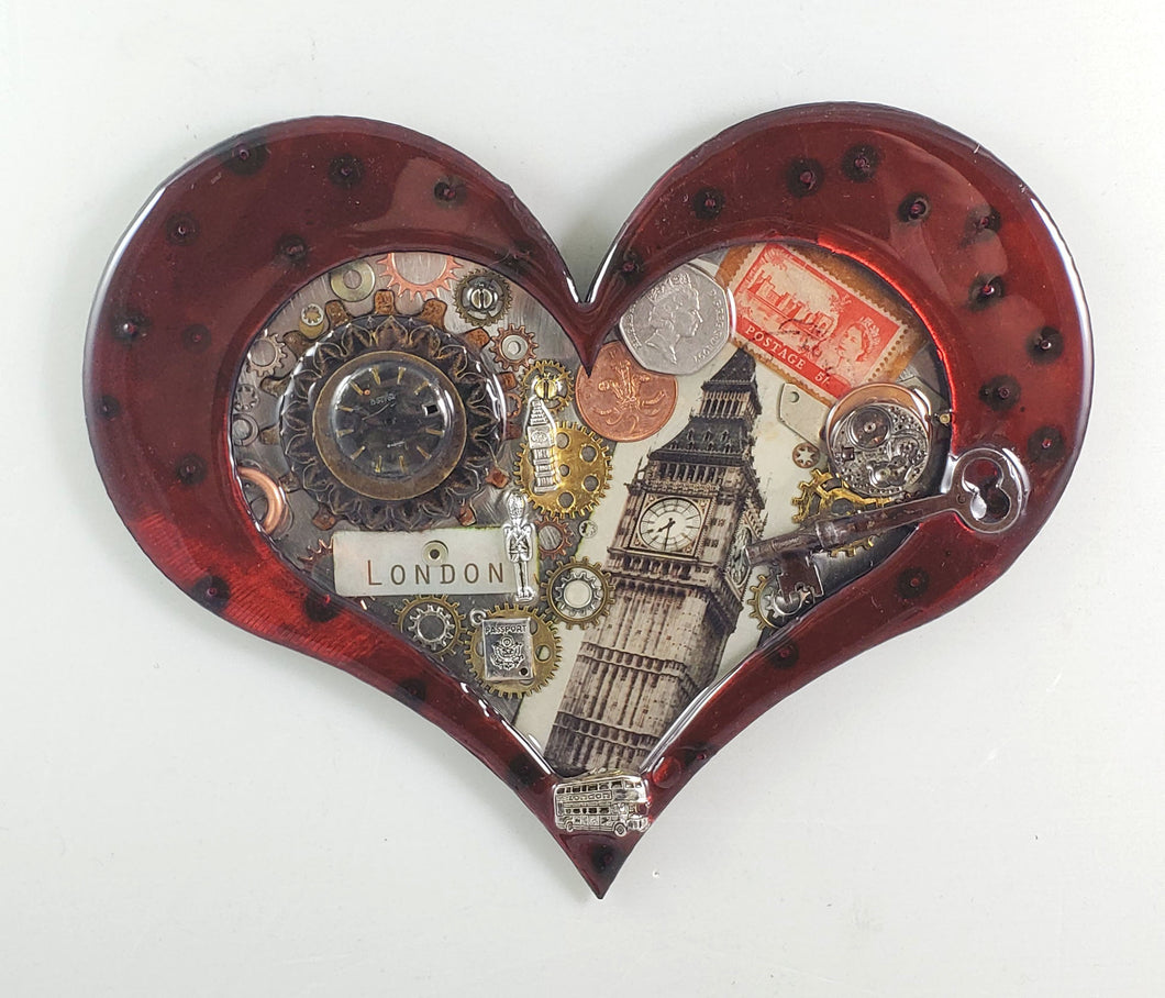 Steampunk Heart: London Calling Red ($125) 10