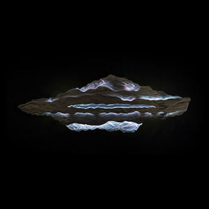 LED Art: Mountain Vista by Kristen Hoard ($700)