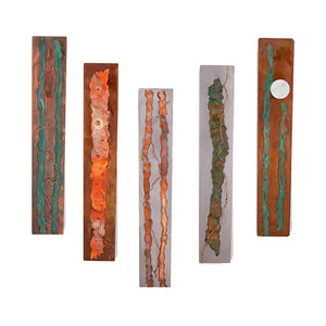 Metal Wall Art: Organic Series by Kristen Hoard ($150 each)