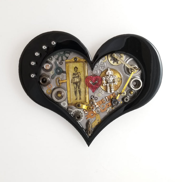 Steampunk Heart: Robot Love ($125) 10