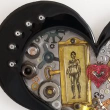 "Steampunk Heart: Robot Love ($125) 10"" x 8"""