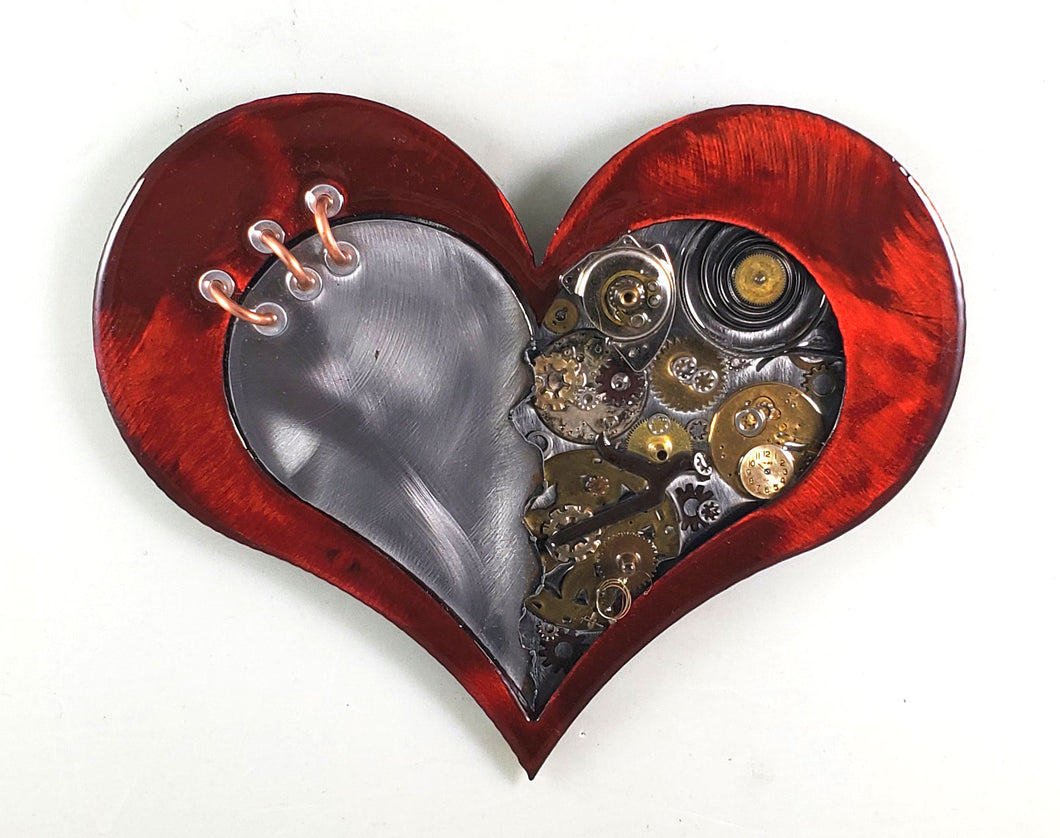 Steampunk Heart: Torn Red ($125) 10