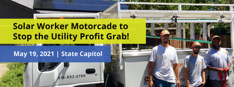 Protest AB 1139 – Stop the Utility Profit Grab!