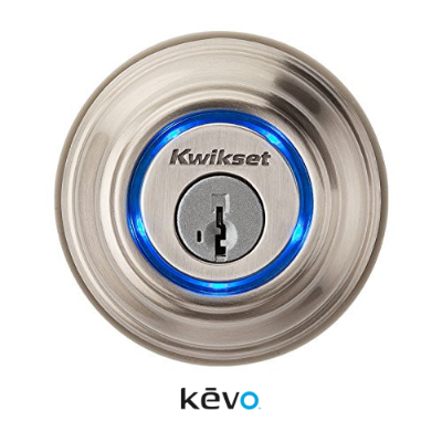 Kevo Smart Lock Deadbolt - Satin Nickel