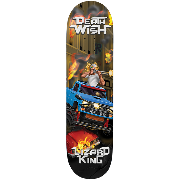 LIZARD KING METAL MAYHEM DECK 8.125