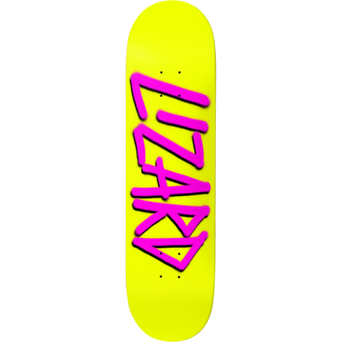 LIZARD KING GANG NAME YELLOW/PURPLE 8.25