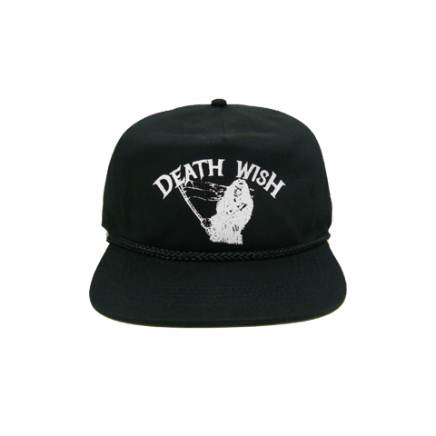 METAL UPRISING 5 PANEL SNAPBACK BLACK/WHITE