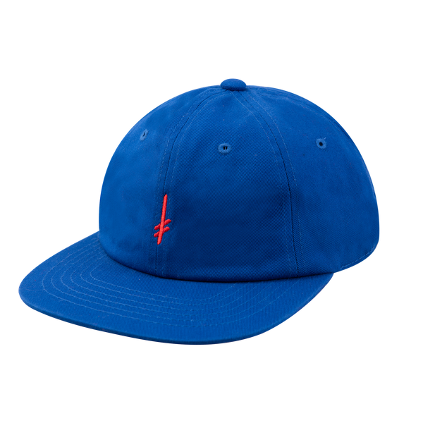 GANG LOGO STRAPBACK BLUE/RED