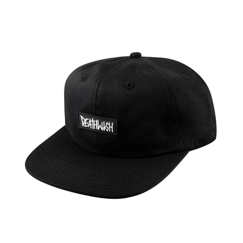 DEATHSPRAY RUBBER SNAPBACK BLACK