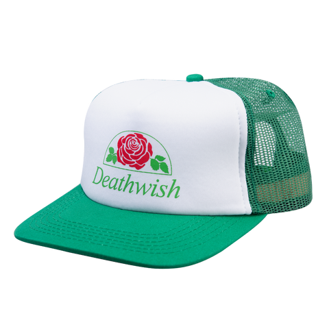 ROSE TRUCKER SNAPBACK WHITE/GREEN