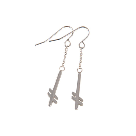GANG LOGO EARRINGS