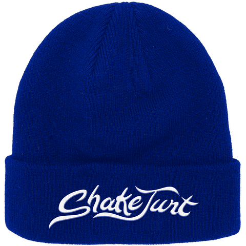 HUSSLE ROYAL CUFF BEANIE BLUE