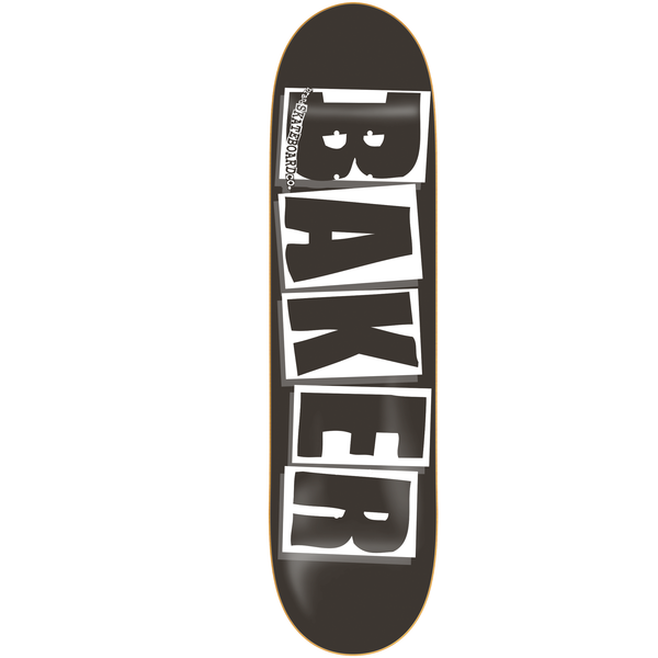 Brand Logo - Black/White Deck  (Multiple Sizes)