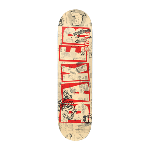 Reynolds Brand Name Doodles Deck 8.0