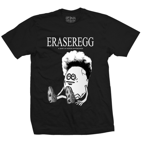 Eraser Egg Black Tee