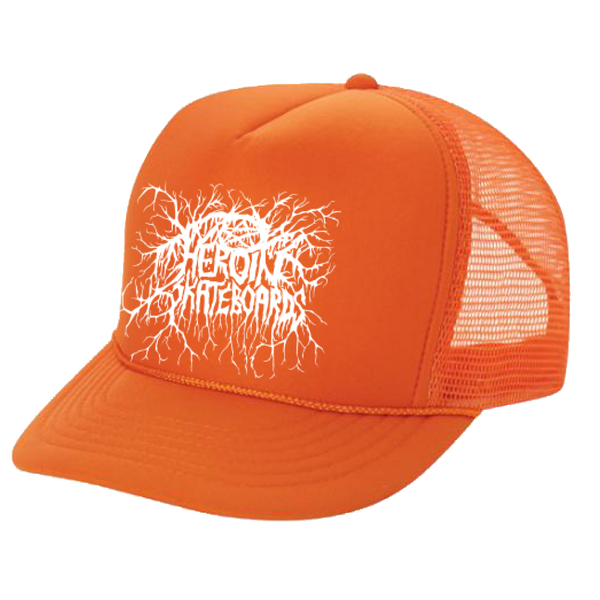 ROOTS TRUCKER CAP ORANGE