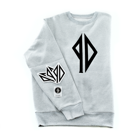 PD Crew Neck Heather Grey