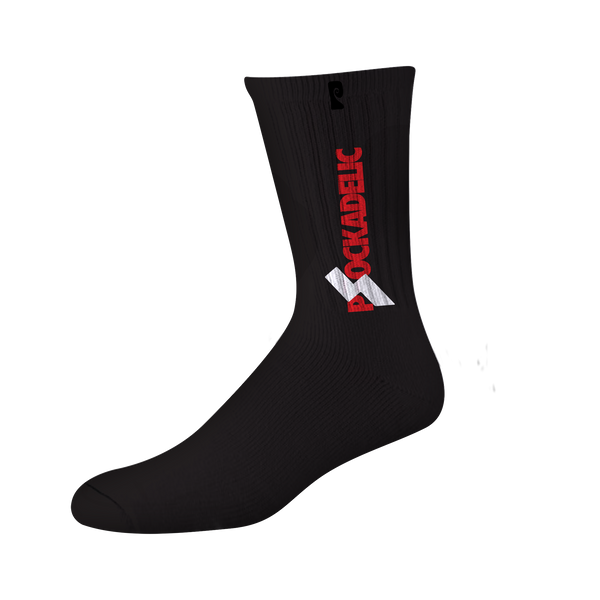 SABOTAGE PSOCKS - BLACK/RED