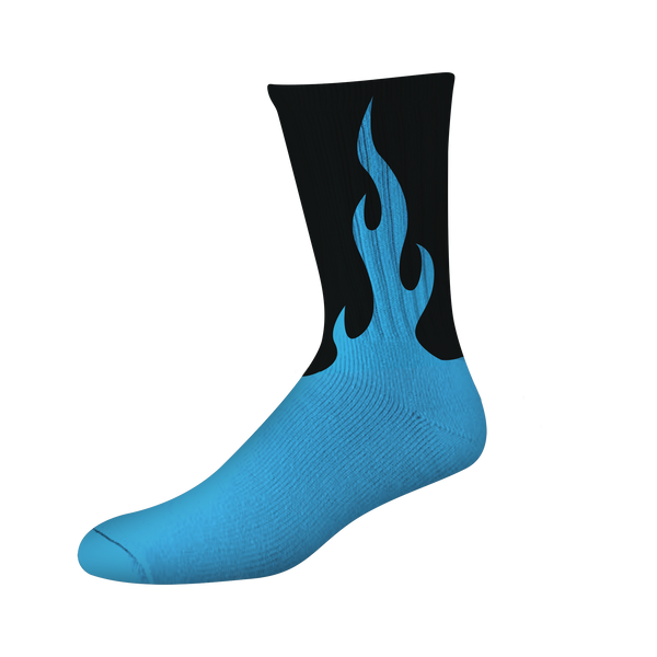 FLAMER PSOCK - BLUE/BLACK NEON