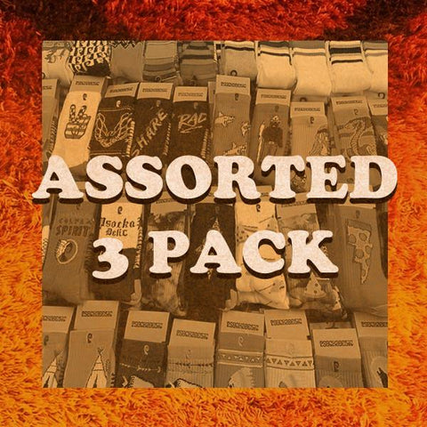 ASSORTED 3 PACK