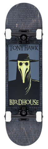 Birdhouse Premium Quality Complete Skateboard Tony Hawk Plague Doctor Black 8.0""