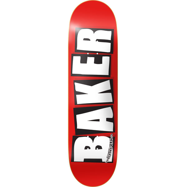 Brand Logo Deck - White  (Multiple Sizes)