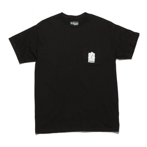 Birdhouse Block Logo Pocket T-Shirt