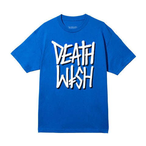 DEATHSTACK TEE ROYAL/WHITE
