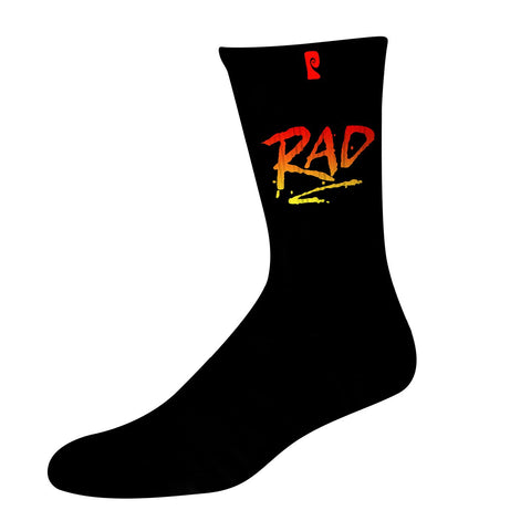 RAD PSOCK - BLACK/RED