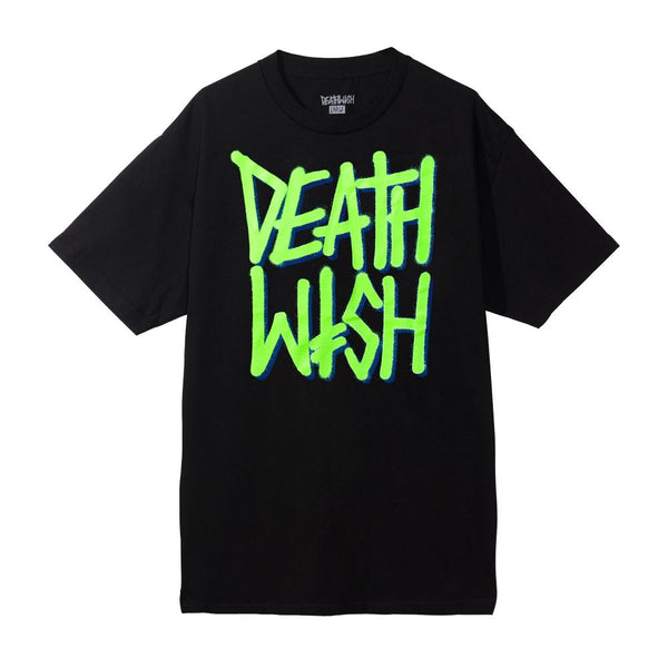 DEATHSTACK TEE BLACK/GREEN