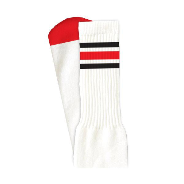 HIGH TIMES PSOCK - WHITE/RED/BLACK