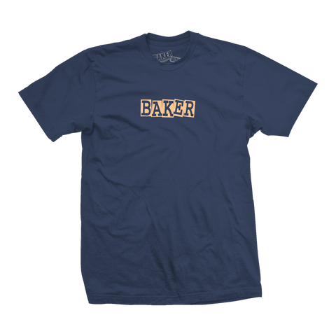 Ribbon Navy Tee