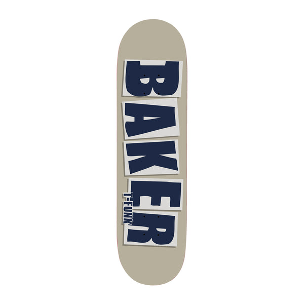 T-Funk Brand Logo Taupe Deck 8.5