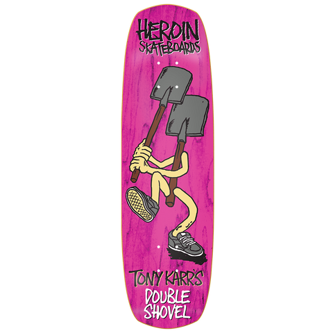 Karr Double Shovel Deck 9.0