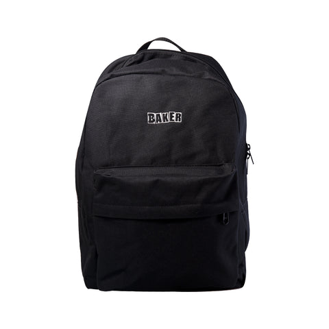 Brand Logo Backpack Black